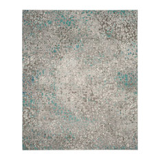 Safavieh Mystique Collection MYS977 Rug, Grey/Light Blue, 8' X 10'