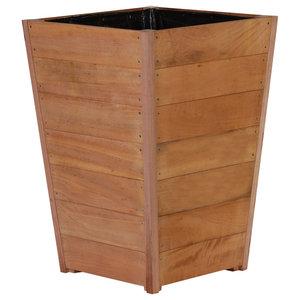 Adezz Hardwood Planter, Sevilla Tapered, 50x50x62cm