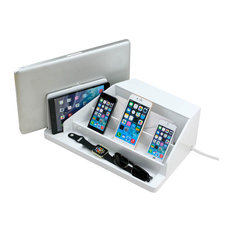 Great Useful Stuff Charging Station Valet And Desktop Organizer High Gloss