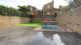 Clapham back garden Pool