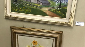 Legacy of Mildred Pitchford art at Calico Rock Museum