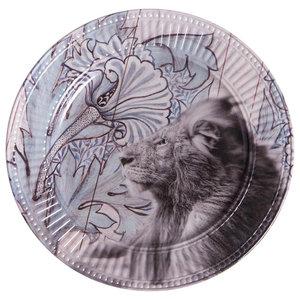 Jungle Lion Dinner Plates, Set of 2
