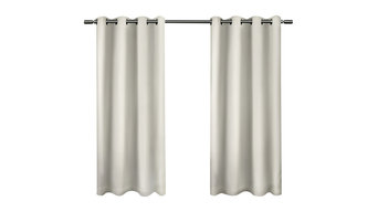 Sateen Insulated Blackout Grommet Curtain Panels