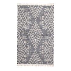 Weave & Wander Bray Navy/Ivory 9' x 12' Rug
