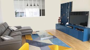 Meuble sur-mesure et décoration appartement