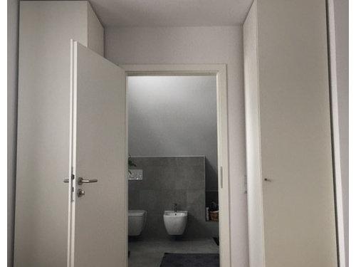 Badezimmer Richtung Schlafzimmer: