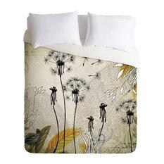 Deny Designs Iveta Abolina Little Dandelion Duvet Cover - Lightweight