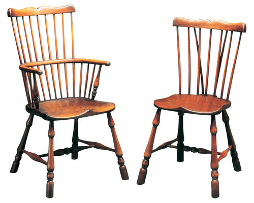 Charming Comb Back Windsor Dining Chairs   Dining Chairs