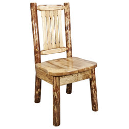 Rustic Dining Chairs by Montana Woodworks