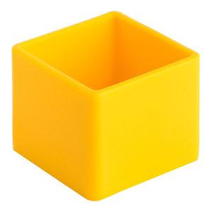 Soft Cube Bathroom Organiser, Yellow