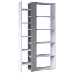 Modern Bookcases by HOCUSPICUS LTD