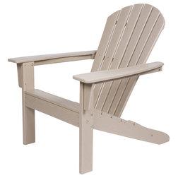 Contemporary Adirondack Chairs by Shine Company inc