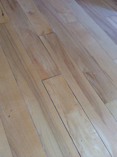 I Just Got My Wood Floors Refinished And There Are Cracks