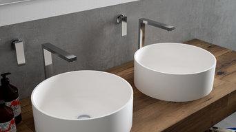 Vasque HI-MACS® pour salle de bains - modèle CB330C