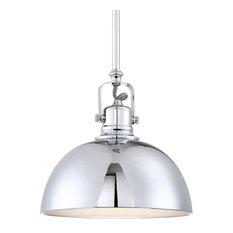 50 most popular led pendant lights for 2018 houzz kira home revelkira home belle 9 contemporary adjustable pendant light chrome aloadofball Images