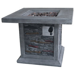 Rustic Fire Pits by Crawford & Burke