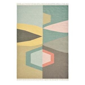 Brink and Campman Tipi Rug, Yellow, 160x230 cm