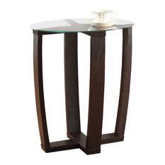 Convenience Concepts   Newport Side Table, Espresso   Side Tables And End  Tables