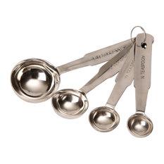 Dexam Measuring Spoons, Stainless Steel, 4-Piece Set