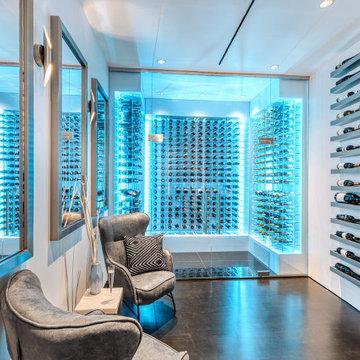Southwest Hills Luxury Wine Room