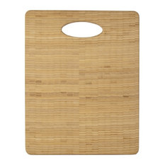 Architec Bamboo Formaldehyde Free Organic Endgrain Chopping Block with Handle