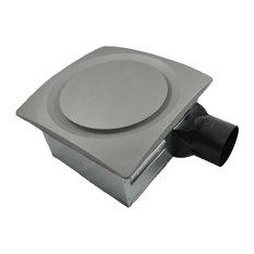Aero Pure Slim Fit Fan With Humidity Sensor, Satin Nickel