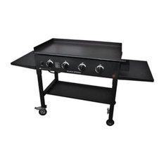 """Blackstone 1554 Griddle Cooking Station, 36"""", 60000 Btu, 15000 Per Burner"""