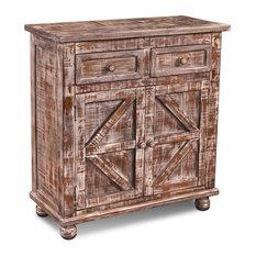 Keystone 36-inch 2-Door Cabinet/Bookcase