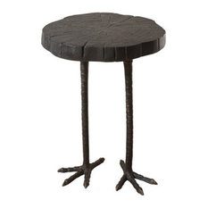 Global Views   Global Views Ostrich Table   Side Tables And End Tables