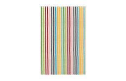 Dash & Albert Rainbow Stripe Woven Cotton Rug
