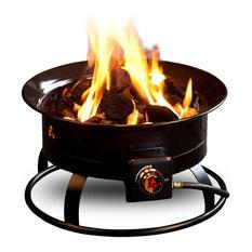 "Outland Living - Outland Firebowl Portable Propane Fire Pit, 19"" Diameter - Fire Pits"
