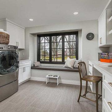 Bloomfield Hills, Lakewood Heights Mud Room/Laundry Room Renovation