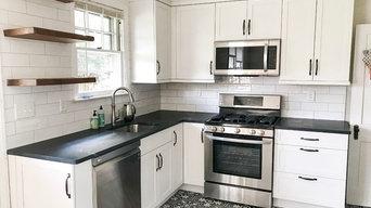 Linthicum Black & White Kitchen Remodel