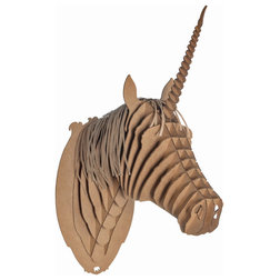 Inspirational Contemporary Wall Sculptures by Cardboard Safari