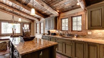 Cabin Style Luxury Custom Home