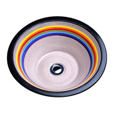 Rainbow Conical Sink