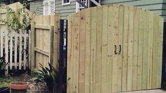 8ft pine fence in Baton Rouge LA