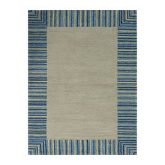 "Piazza 6 Blue Multi-Purpose Area Rug 7'6""x9'6"" by Amer Rectangle"
