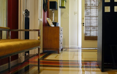 Room of the Day: The Most Flexible Foyer Ever