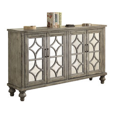 Velika Console Table, Weathered Gray