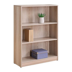 Forward Furniture Formation 48-inch Tall 3-Shelf Bookcase In Ash