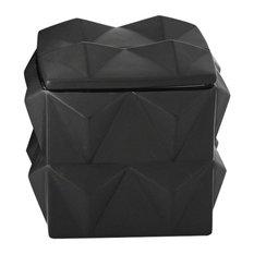 Braque Box, Matte Black, Medium