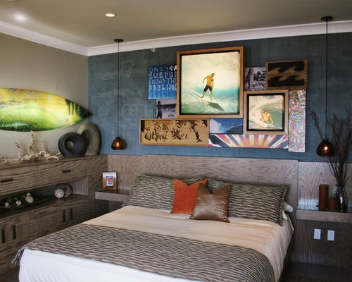 Surf theme room ideas pictures remodel and decor for Surfboard decor for bedrooms