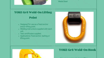 weld on lifting points in Australia