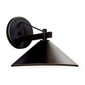 Kichler 7-3/8-Inch Dark-Sky Compliant Outdoor Wall Light