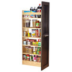 Leala Adjustable Shelves Contemporary Pantry And