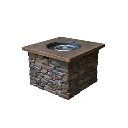 Rustic Fire Pits by Tortuga Outdoor