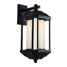 Signature Black LED Outdoor Wall Lantern