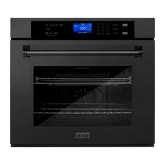 """30"""" Professional Single Wall Oven, Black, AWS-30-BS"""