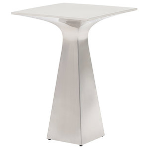 Sato Stainless Accent Table
